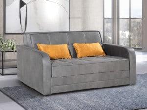 ספה דו מושבית מפוארת נפתחת למיטה זוגית LUCIA